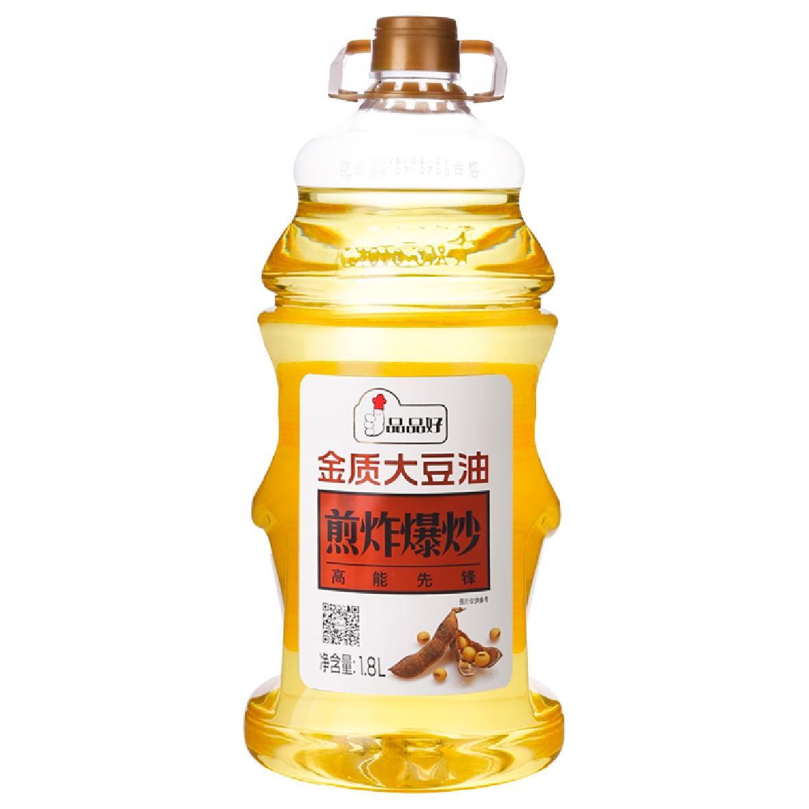 1.8L金质大豆油
