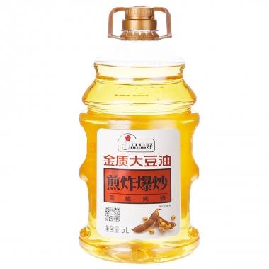 5L金质大豆油